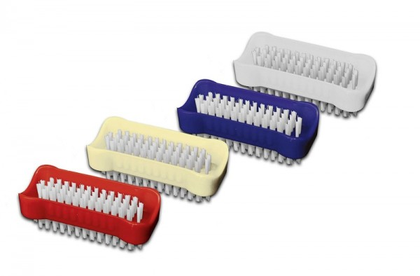 10er Pack Nölle Handwaschbürste Kunststoff