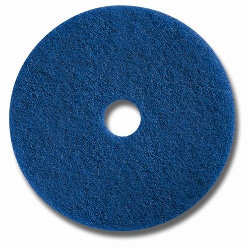 """Glit Floor Superpad - blau - Ø 17"""" = 432 mm"""