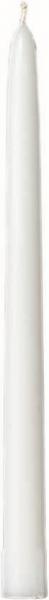 Duni Spitzkerzen 260x22mm weiß  - 10x10 Stück