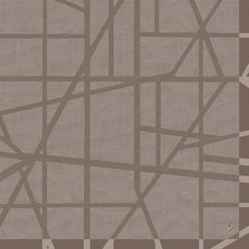 Duni Dunilin Servietten 40x40cm Maze greige  - 12x50 Stück
