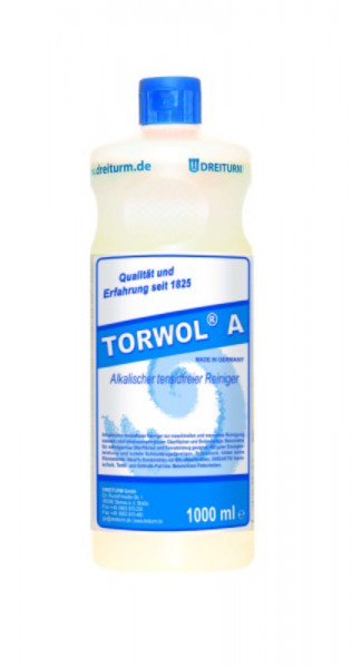 Dreiturm alkalischer, tensidfreier Reiniger Torwol A 1 L
