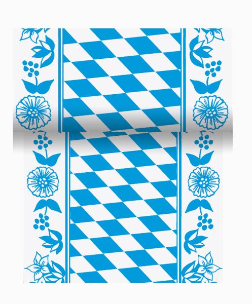Duni Dunicel Tischläufer 20x0,15m Bayer Raute - 6x1 Stück