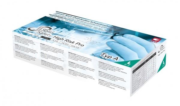 Ampri Einmalhandschuh Nitril puderfrei L High Risk Pro ( 1 Box = 50 Stück )