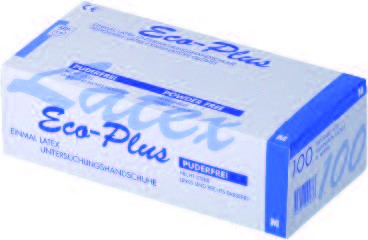 Ampri Untersuchungshandschuhe Eco- Plus Latex XS