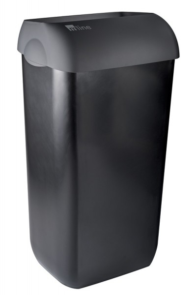 Cleanclub Abfallbehälter schwarz, 23 Liter
