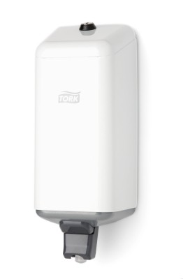 Tork Spender für Flüssigseife - Metall - weiß - S1