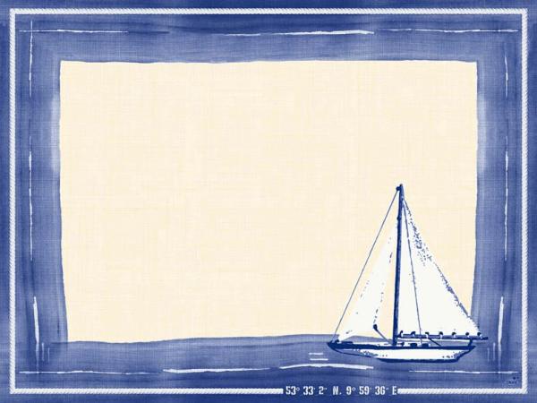 Duni Dunicel Sets 30x40 Sailing  - 5x100 Stück