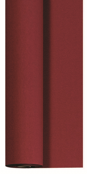 Duni Dunicel Tischdecke Rolle 25x1,18m bordeaux - 2x1 Stück