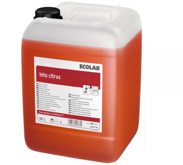 Ecolab Into Citrus Sanitär-Kraftreiniger 10 l