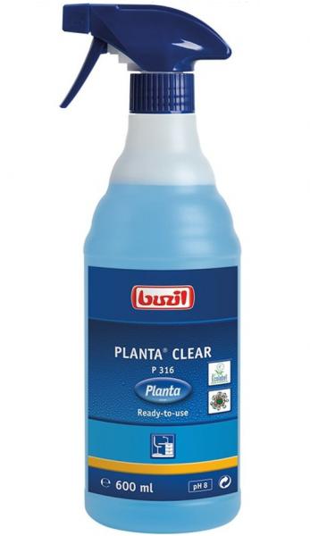 Buzil Planta® Clear P316 Ökologischer Glasreiniger 600ml