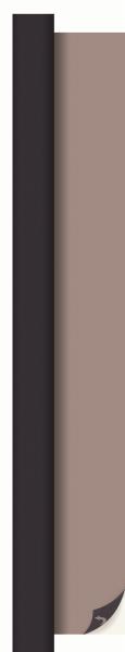 Duni Dunicel Rolle 10x1,20m schwarz/greige - 6x1 Stück