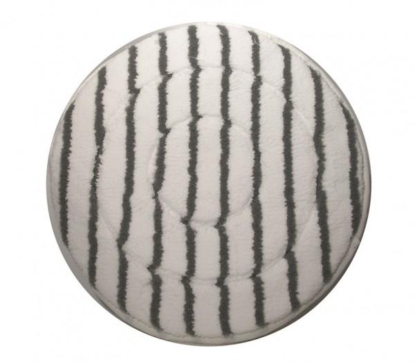 Numatic NuPad Microfaser-Pad 400mm grau-weiß