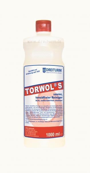 Dreiturm saurer, tensidfreier Reiniger Torwol S 1L - 4295