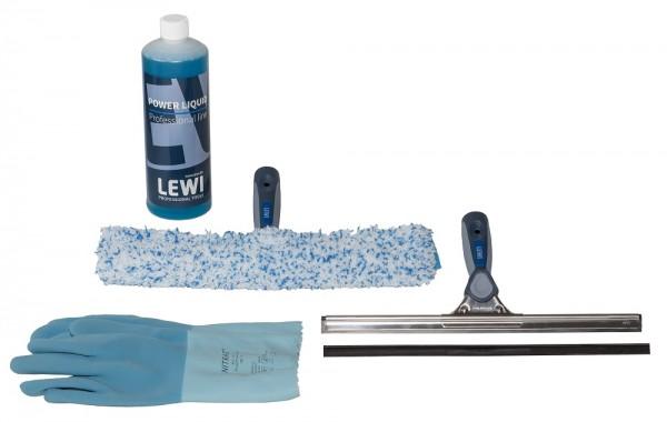 LEWI Fensterreinigungs-Set (1 Set = 7 Teile)