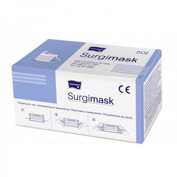 Seni medizinischer Mundschutz, unsteril (1 Box = 50 Stück)