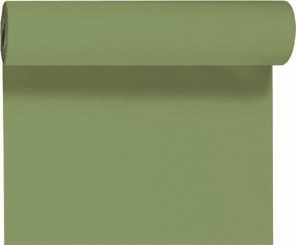 Duni DC Tête à Tête Tischläufer 0,4x24m herbal green - 6x1 Stück