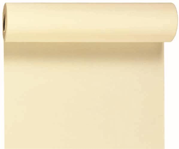 Duni DC Tête à Tête Tischläufer 0,4x24m cream - 6x1 Stück