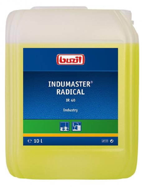 Buzil alkalischer Industriereiniger Indumaster® Radical IR40 - 10L Kanister