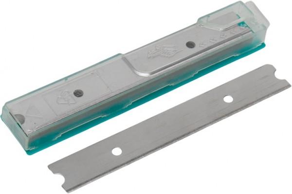 LEWI Ersatzklingen 10 cm für Fenster-Bodenschaber, Packung mit 10 Klingen