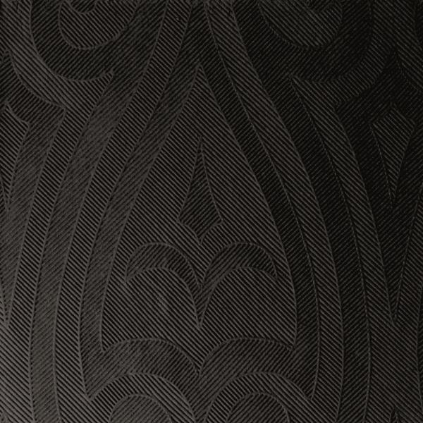 Duni Elegance Servietten 40x40cm Lily schwarz - 6x40 Stück