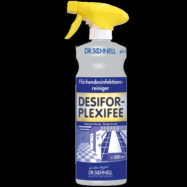 Dr.Schnell gebrauchsfertige Flächendesinfektion Desifor-Plexifee 500ml mit Sprühkopf