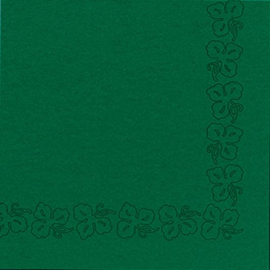 Duni Dunicel Servietten 41x41 Weinranke jägergrün - 10x50 Stück