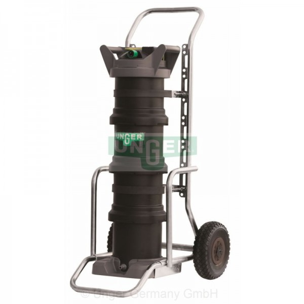 Unger HiFlo nLite® HydroPower DI Filter 48, auf Transportkarre - DI48C