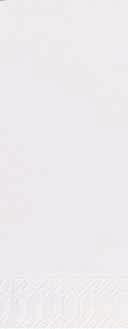 Duni Zelltuch Servietten 36x36 3lg 1/8 BF weiss - 4x250 Stück