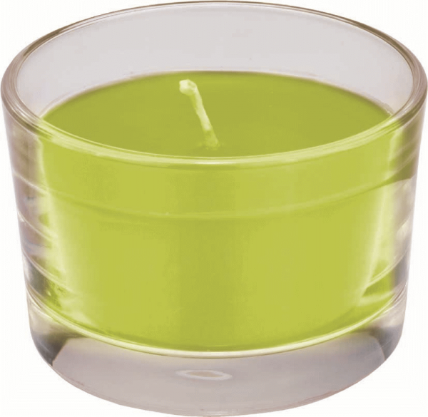 Duni Kerzenglas Ibiza, kiwi - 12x1 Stück