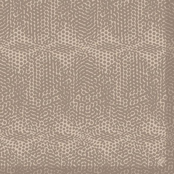 Duni Dunilin Servietten 40x40cm Organic brown  - 12x50 Stück