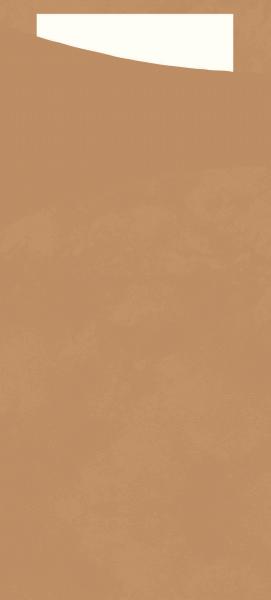 Duni SACCHETTO 190x85mm eco echo/Servietten weiß - 4x100 Stück