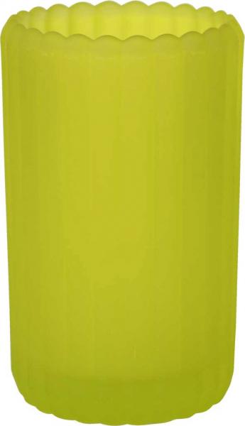 Duni Teelichtglas Patio, gefrostet kiwi - 2x6 Stück