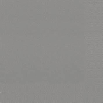 Duni Zelltuch Servietten 24x24 3lg 1/4 granite grey  - 8x250 Stück