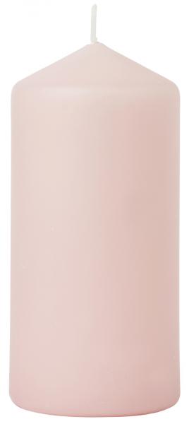 Duni Stumpenkerzen 150x70mm, matt mellow rose  - 2x6 Stück