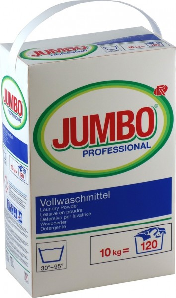 Jumbo Vollwaschmittel 10 kg Karton