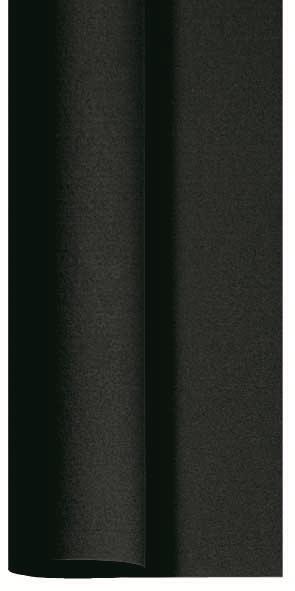 Duni Dunicel Tischdecke Rolle 10x1,18m schwarz - 6x1 Stück