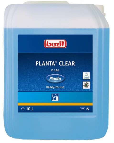 Buzil Planta® Clear P316 Ökologischer Glasreiniger 10L