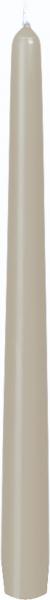Duni Leuchterkerzen 250x22mm greige - 2x50 Stück