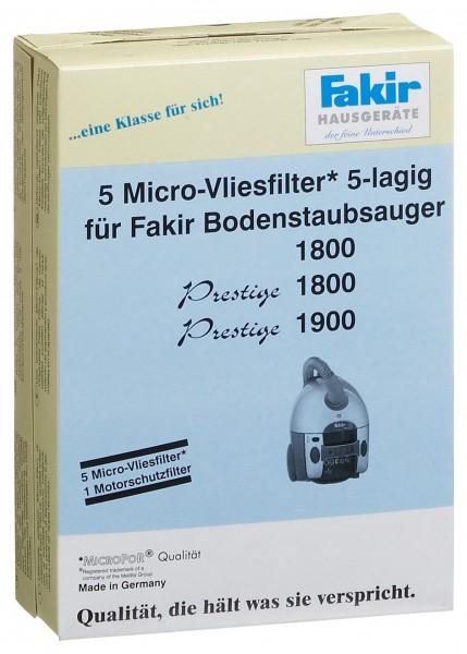 Fakir Papierfilterset für Prestige 1800 Öko Power 5 Staubbeutel (EUR 3,09/Stück)