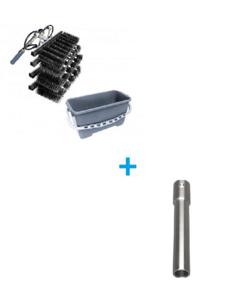 SET LEWI Komplettset Lamellenreinigung + LEWI ROTAQLEEN Adapter