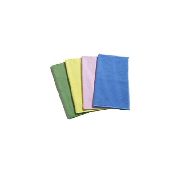 Cleanclub Microtex Microfaser-Tuch blau (1 Packung = 10 Stück )
