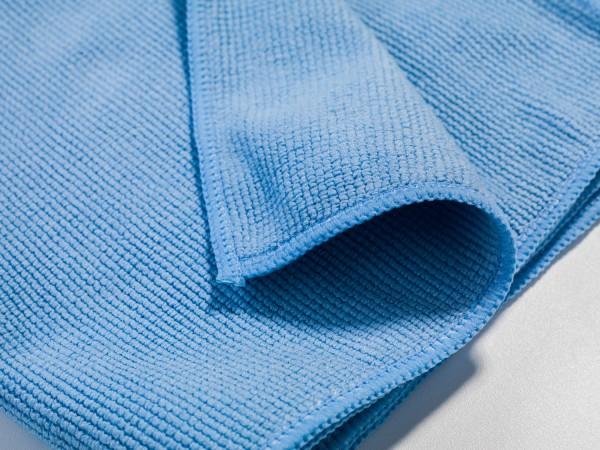 10x Mikrofasertuch Professional Light - blau - 40x40cm