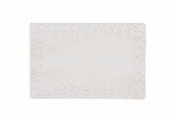Duni Deko Spitzenpapier 20x30cm weiss - 8x250 Stück