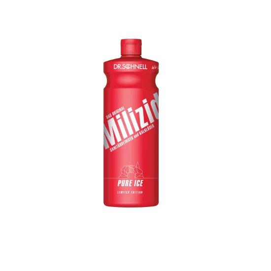 Dr. Schnell Sanitärreiniger Milizid Pure Ice - Jubiläumsedition  1L
