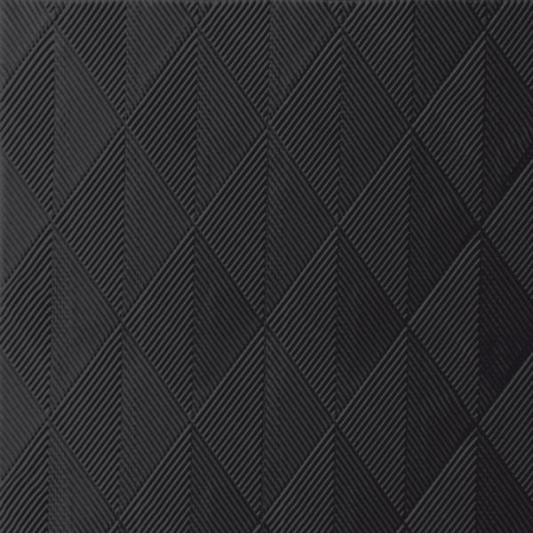 Duni Elegance Servietten 48x48cm Crystal schwarz - 6x40 Stück