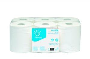 Werra Handtuchpapier Rolle 2-lag. 154m 1 Packung á 6 Rollen