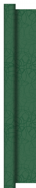 Duni Dunisilk+ Tischdecke Rolle 25x1,20m Circuits jägergrün - 2x1 Stück