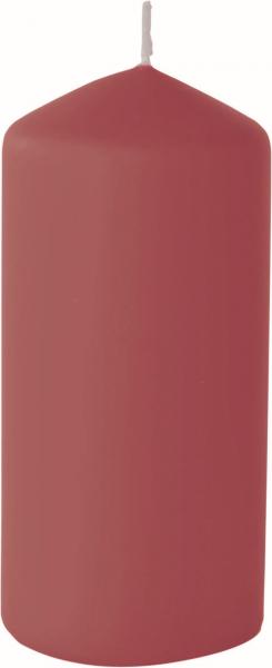 Duni Stumpenkerzen 150x70mm, matt bordeaux  - 2x6 Stück