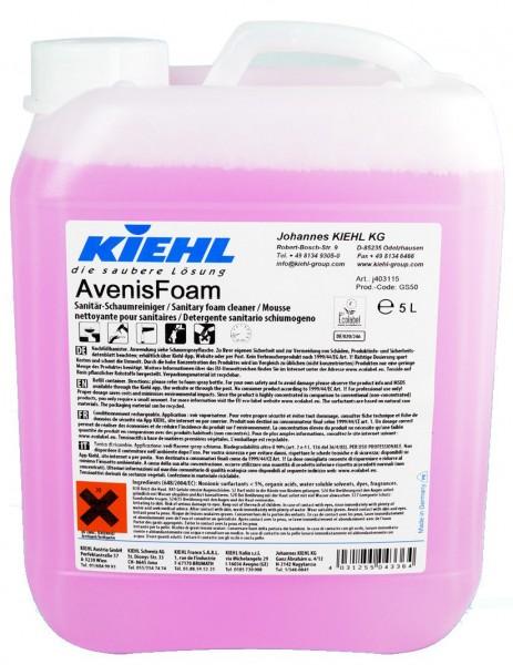 Kiehl AvenisFoam 5,0 ltr. Kanister Sanitär-Schaumreiniger