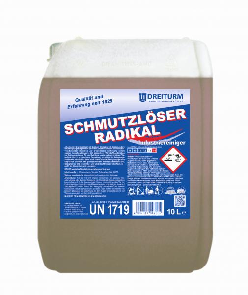 Dreiturm Schmutzlöser radikal 10L - 4700